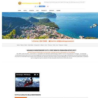 www.montenegrovacanze.it